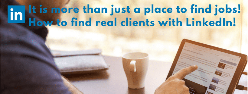 Finding clients with LinkedIn