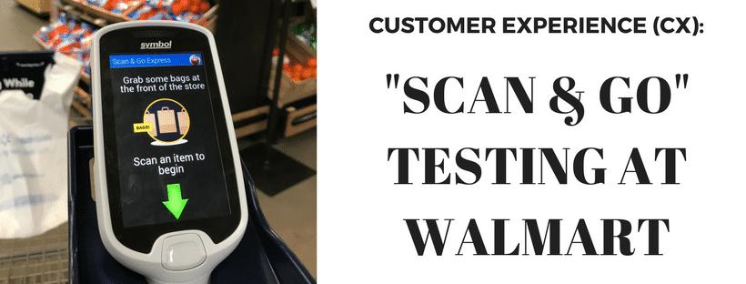 Scan & Go Walmart